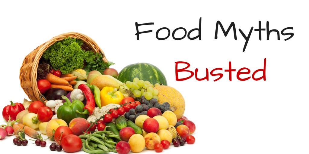 4 Food Myths - Jeremy Walker Hypnotherapy